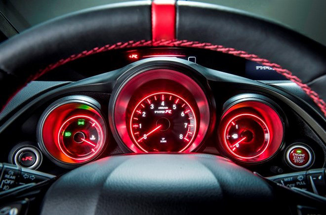 Honda Civic Type R Cockpit 310 PS