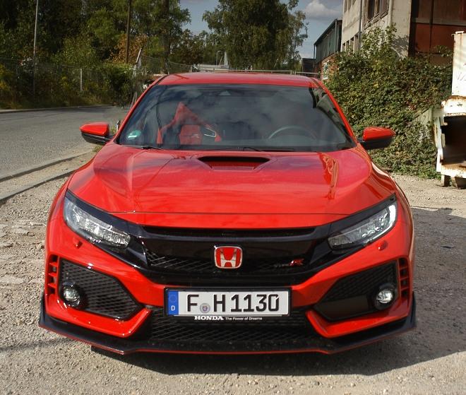 Honda Civic Type R 320 PS Frontpartie 2020