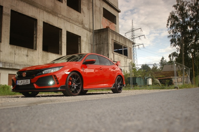 Honda Civic Type R 320 PS Front