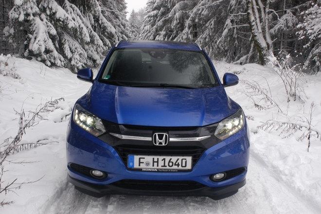 Honda HR-V 2018 Front, blau