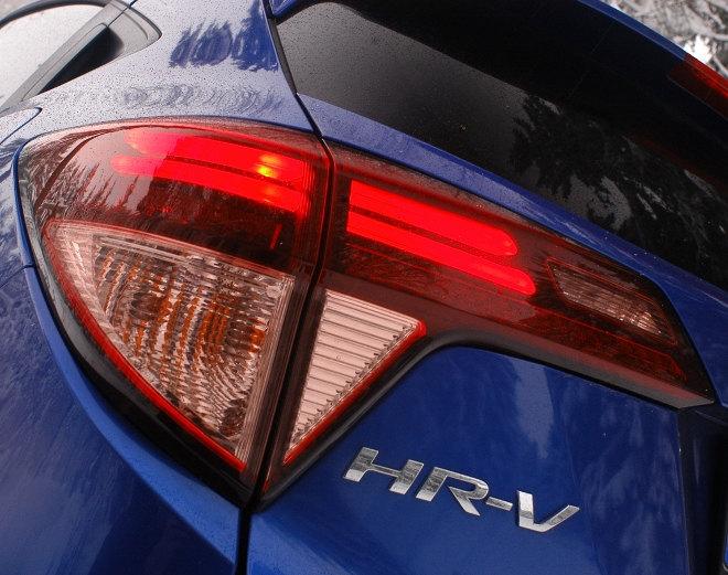 Honda HR-V 2018, Heck, blau