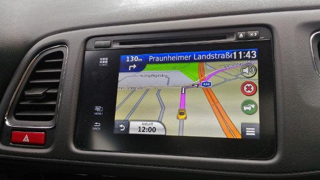 Honda HR-V Navigation Bildschirm