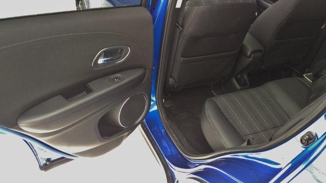 Honda HR-V Test Sitzbank hinten Executive