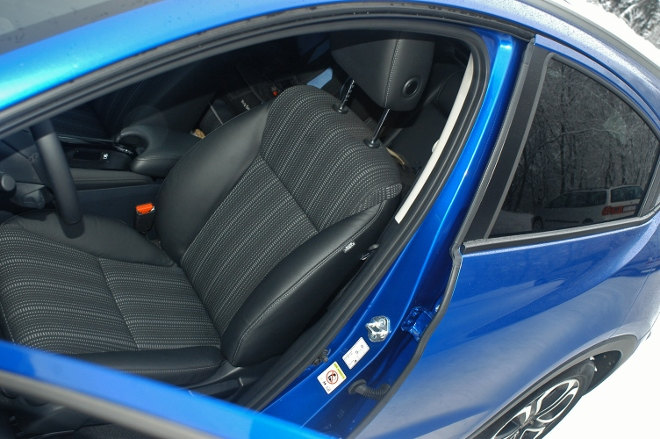 Honda HR-V Test Vordersitz Executive