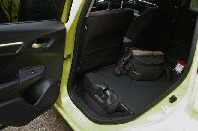 Honda Jazz 1.3 geklappte Sitze