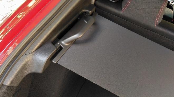 Honda Civic Type R 320 hp Kofferraumabdeckung