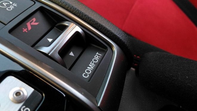 Honda Civic Type R 320 hp Sportmodus und R Modus