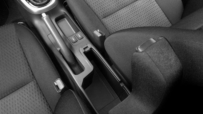 Honda Jazz Facelift Ablage in der Mittelkonsole