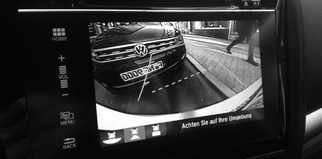 Honda Jazz Facelift Rückfahrmera, Kamera Bild, Bildschirm
