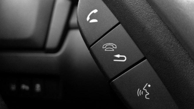 Honda Jazz Facelift Tasten fürs Telefon, Telefontasten