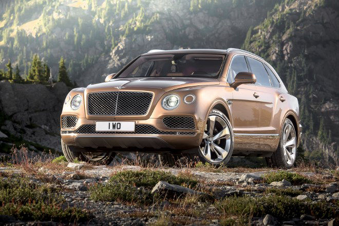 Neuer Bentley SUV