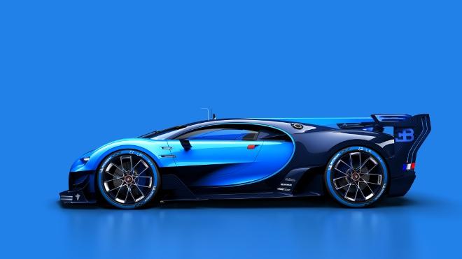 IAA 2015 Bugatti Chiron Vision