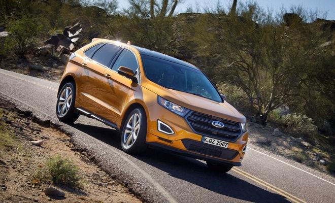 Neuer Ford Edge IAA 2015