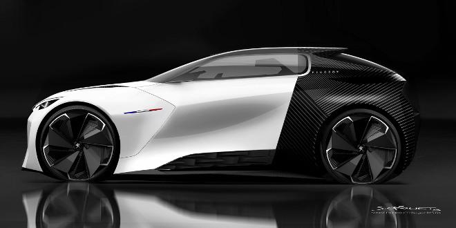 IAA 2015 Peugeot Fractal Conceptcar