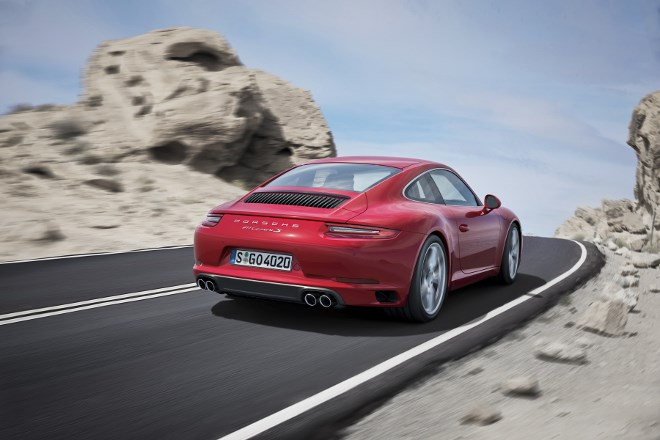 911 Carrera IAA 2015 Neue Motoren