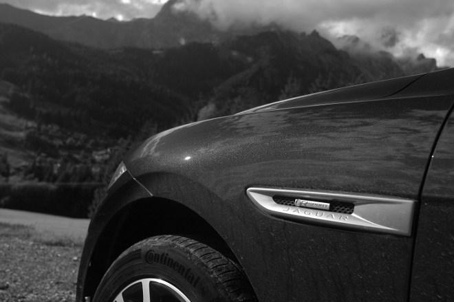 Jaguar F-Pace Flanke