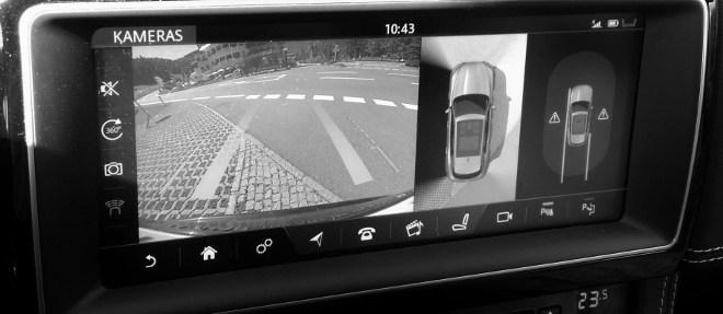 Jaguar F-Pace Interior Kamera