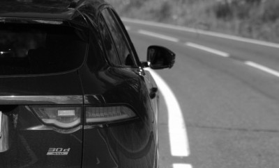 Jaguar F-Pace Exterior Heck