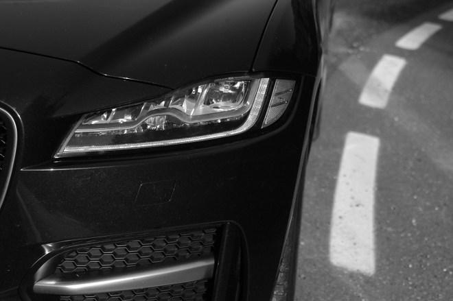 Jaguar F-Pace Exterior Front