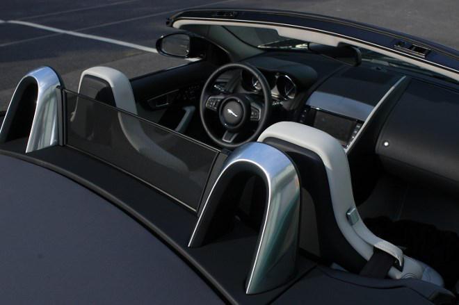 Jaguar F-Type Cabrio Überollschutz