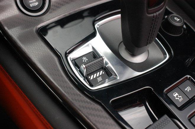 Jaguar F-Type V8 AWD Schaltung