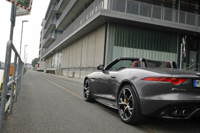 Jaguar F-Type Cabrio V8 Test