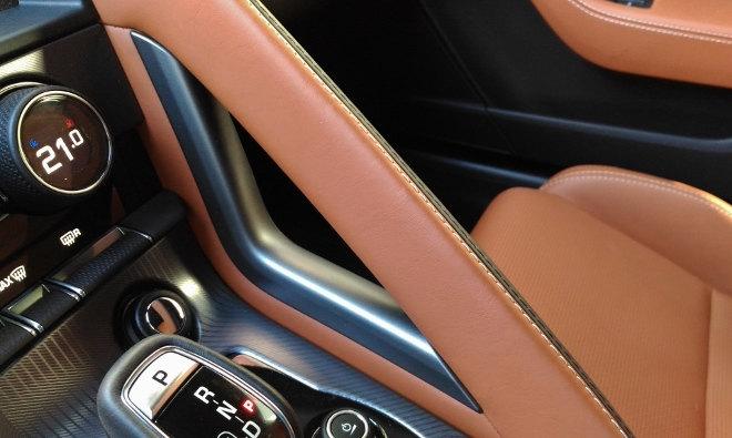 Jaguar F-Type Vierzylinder Haltegriff Beifahrer