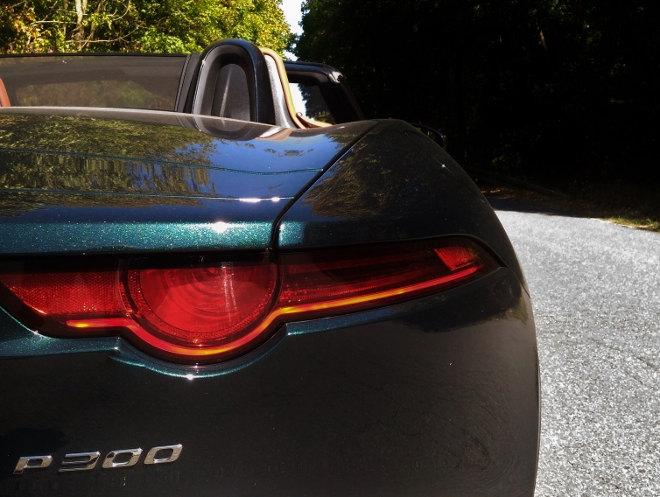 Jaguar F-Type Vierzylinder Heck, Heckleuchte 2018, 2019