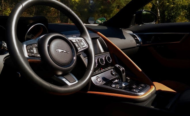 Jaguar F-Type Innenraum, Interior 2018, 2019