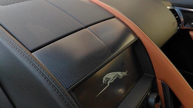 Jaguar F-Type Vierzylinder Klima, Luftdüse unten