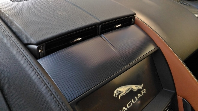 Jaguar F-Type Vierzylinder Klima, Luftdüse elektrisch