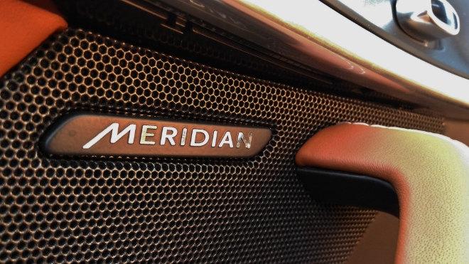 Jaguar F-Type Vierzylinder Meridian Soundsystem