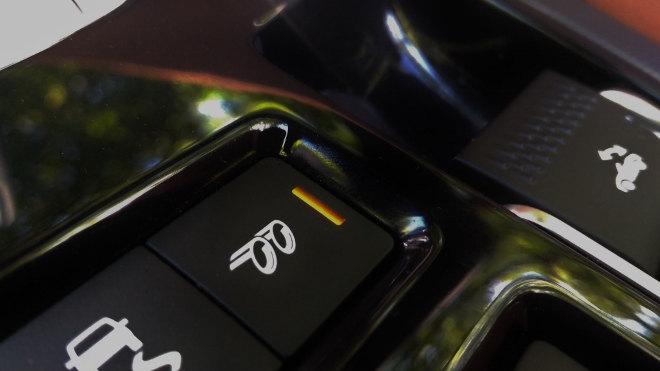 Jaguar F-Type Vierzylinder Soundklappe Taste