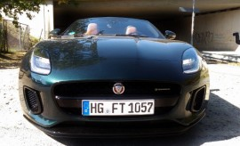 Jaguar F-Type 2.0 Turbo Cabrio vorne Front