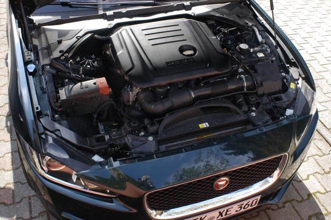 jaguar XE 20d Test, mit Diesel,, 180 PS,