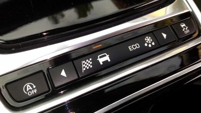Jaguar XF Innenraum Tasten