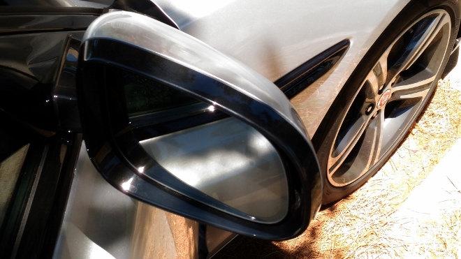 Jaguar XF Karosserie Spiegel