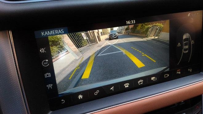 Jaguar XF Innenraum Kamera