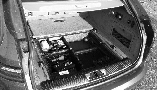 Jaguar XF Sportbrake 30d Kofferraum
