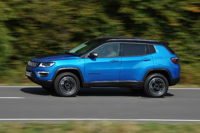 Jeep Compass 4xe Plug in Hybrid Trailhawk