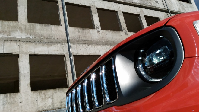 Jeep Renegade Facelift LED Scheinwerfer