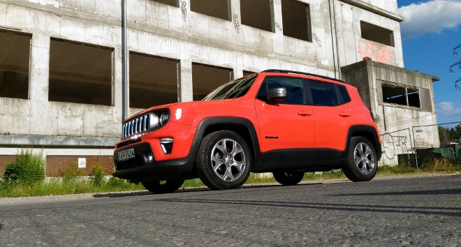 Jeep Renegade Facelift orange