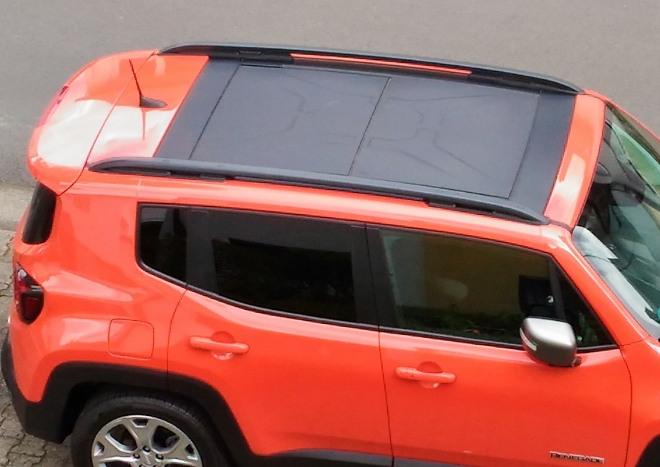 Jeep Renegade Facelift herausnehmbares Dach