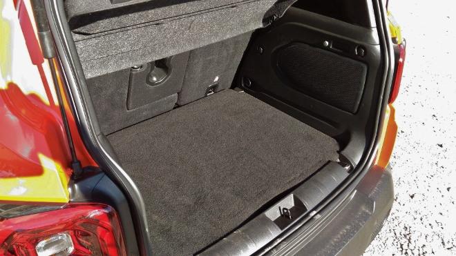 Jeep Renegade Facelift Kofferraum und Kofferraumvolumen