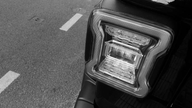 Jeep Wrangler Limited 4-door Leuchtenform Heck