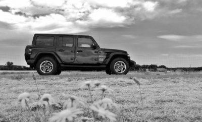 Jeep Wrangler Limited 4-door Seitenansicht