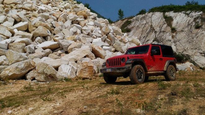 Jeep Wrangler Vierzylinder Benziner Rubicon offroad