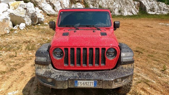 Jeep Wrangler Vierzylinder Benziner Rubicon Front