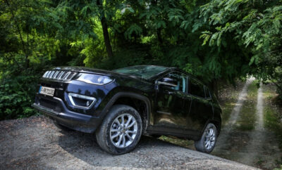 offroad fahren Jeep Compass 4xe Plug in Hybrid