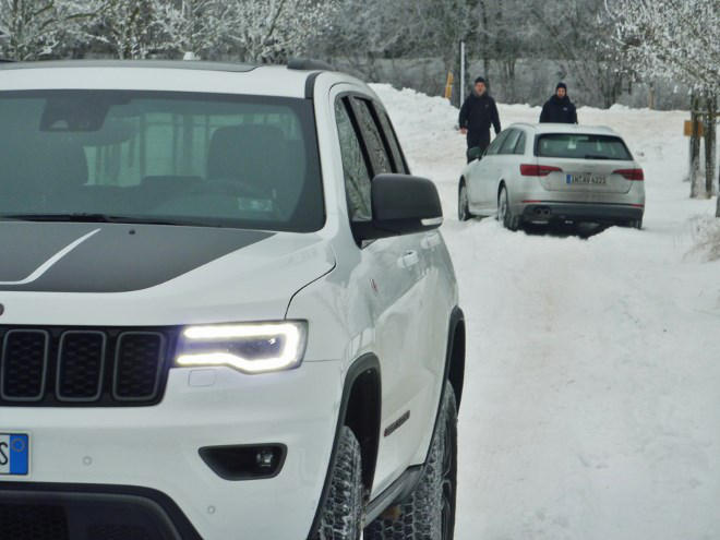 Jeep Grand Cherokee Trailhawk Test 2017